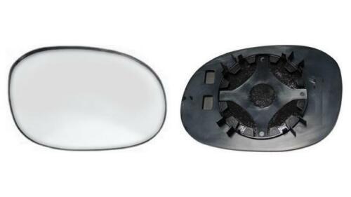 Copiloto No termico Transparente Derecho 98=/>03 Cristal espejo Peugeot 206