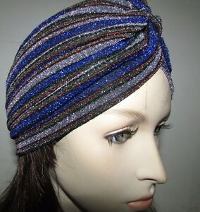 Turban-HeadWrap-Cover-Band-Hat-Chemo-Cap-Bandana-Fashionable-Pleated