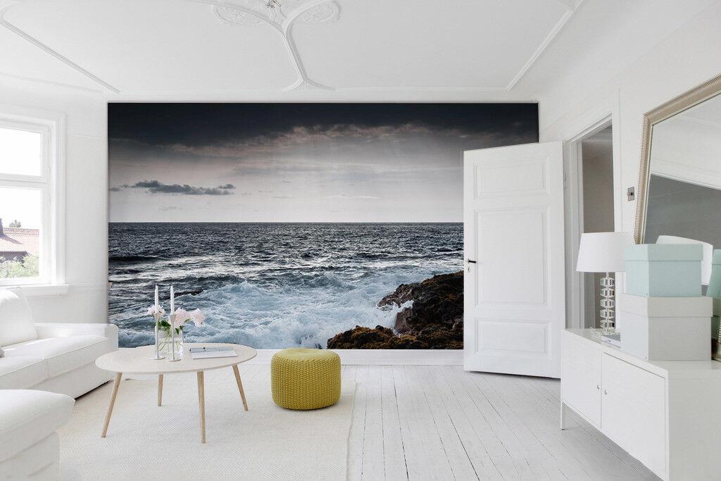 3D Natürlich Himmel Wellen 893 Tapete Wandgemälde Tapeten Bild Familie DE Lemon