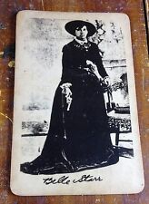 Belle Starr Queen of the Oklahoma Outlaws Old West Horse Thief Photo Photograph