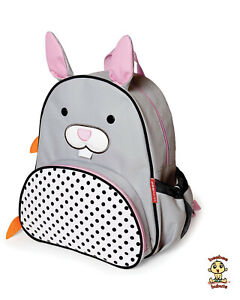 Skip Hop Zoo Little Kid Backpack BUNNY design Authentic and Brand New