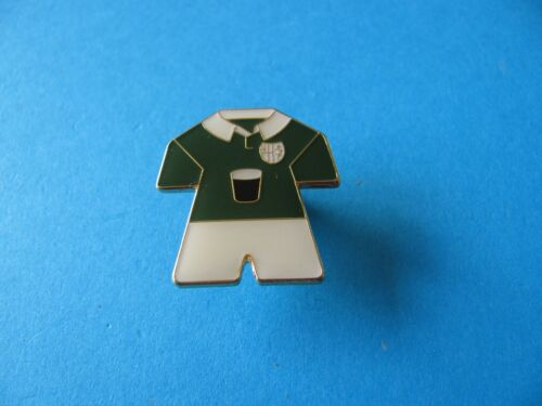 Guinness Rugby Kit Pin Badge VGC Unused Enamel on Gold Coloured Back.
