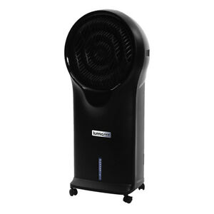 NewAir Luma Comfort Portable 3 Speed Oscillating Air Evaporative Swamp Cooler