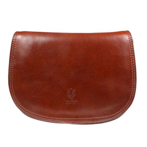 Womens UK Fashion Crossbody Real Genuine Leather Shoulder Saddle Bag