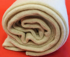 K133  NWT Gorgeous Beige Color Knitted 100% Pashmina Scarf Handmade In Nepal