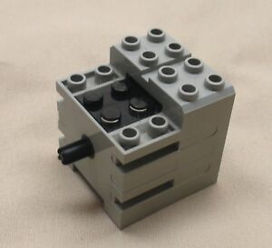 Image Is Loading Lego Mindstorms Old Light Gray Electric Motor 9v