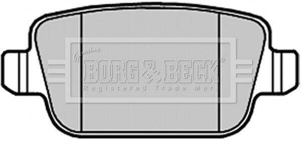Borg & Beck Bremsbelag Set Bremsbeläge BBP2122 - Original 5 Jahre Garantie