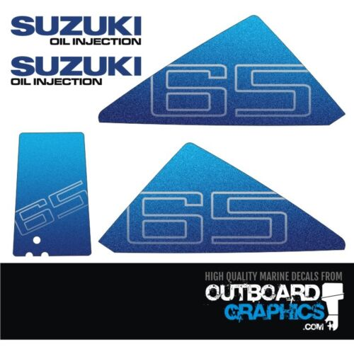aufkleber-kit Suzuki DT65 2-takt außenborder abziehbilder