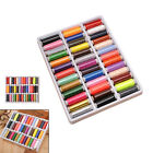 39pcs/set 200 Yard Mixed Colors Polyester Spool Sewing Thread For Hand Machine