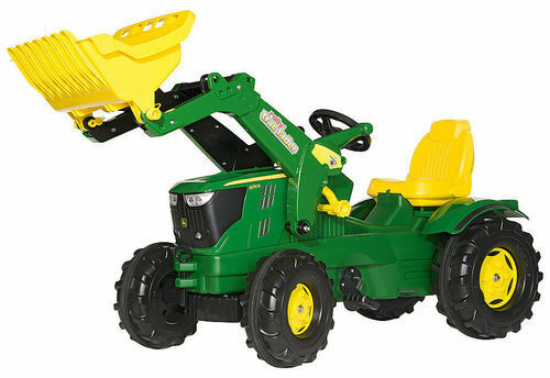 Rolly Farmtrac John Deere 6210R, rollyTrac loader Ride-On