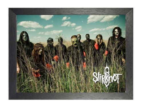 Slipknot 2 Heavy Metal Band Group Poster Music Star Photo Scary Mask Picture