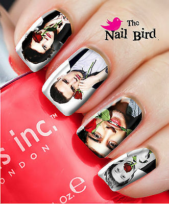 Nail Art Nail Decals Nail Transfers Nail Wraps ONE DIRECTION ROSES/VALENTINES