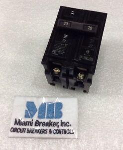 "Q220 Siemens Plug-In Circuit Breaker 2 Pole 20 Amp 240V /""2 YEAR WARRANTY/"""