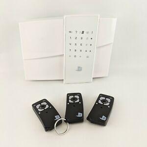 RSI-Alarm-Panel-GPRS-XL200-inkl-3-Fernbedienungen-Alarmanlage-Bedieneinheit
