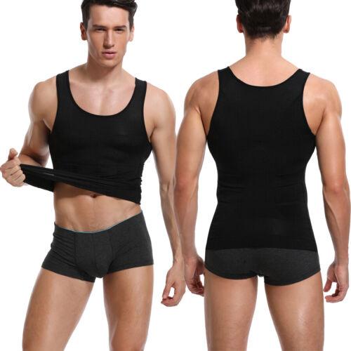 Shapewear Slimming Body Shaper Vest Abdomen Shirt For Men Chest Compression Top