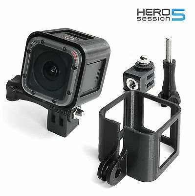 Tripod Mount F Frame GoPro Hero 4 Black marco accesorios trípode adaptador Orange