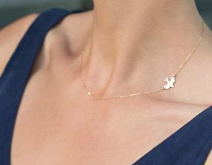 Damen-Kette-Halskette-gold-silber-Vogel-Bird-Tier-Style-Blogger-Freiheit-simple