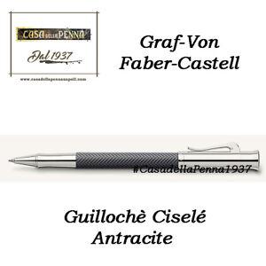 Guillochè Ciselè Antracite Colour Concept Penna Graf-Von Faber-Castell offerta QPAyUqNI-08032505-270384671