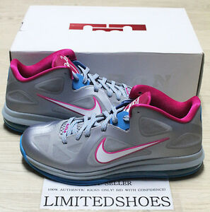 bc6bf1a2dc7 NIKE LEBRON XI 9 LOW FIREBERRY WOLF GREY 510811-002 US 11 hornet ...
