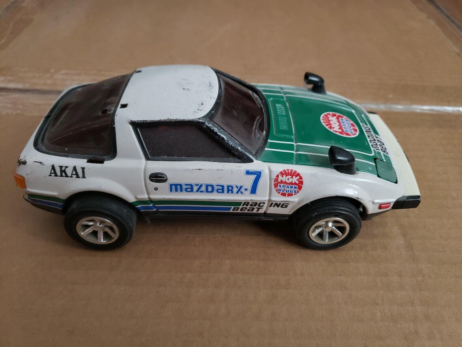 Vintage Rare Masuda tribimet Mazda Rx7 Tin voiture jouet