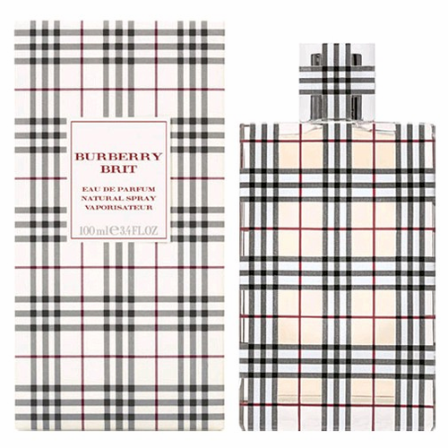 Burberry Brit by Burberry For Women 3.3 oz Eau de Parfum Spray New In Box Sealed