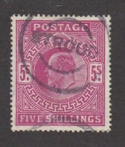 Great Britain stamp #140, used, 1902 - 1911, KEV II  SCV $225.00