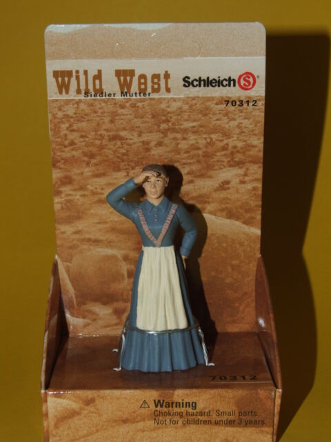 Schleich Wild West Cowboy Indianer - Siedler Mutter 70312