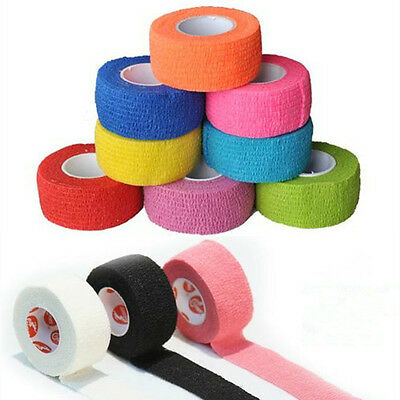 Kinesiology Therapeutic Sports Gym Physio Muscles Care Elastic Tape Bandage 4.5m