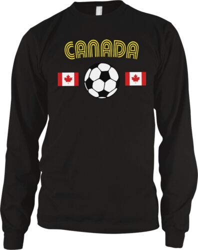 Canada Canadian National Soccer Team The Canucks Football Long Sleeve Thermal