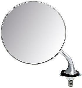 Mg t-type chrome rond extérieur aile miroir l//h WM1905 n//s convexe en verre 4R6