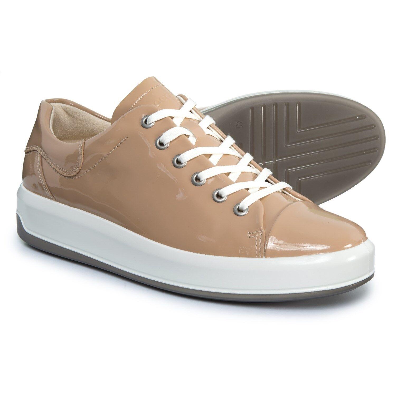ECCO femmes baskets  Soft 9 Leather Ginger 41 US 10-10.5
