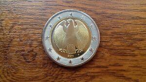 pièce neuve allemagne 2 euros normale 2011a