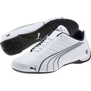 Details about New men's Puma Future Kart Cat BMW Motorsport shoes white  blue black 306216-02