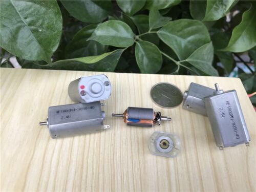 DC 2.4V 3V 4.8V 15700RPM High Speed Carbon Brush Mini 180 Motor Electric shaver