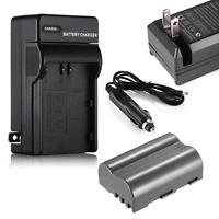 EN-EL3e Battery + Charger For Nikon D700 D300 D200 D80 D90 D70s D300s D50 D100