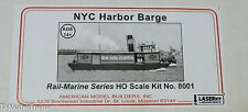 American Model Builders, Inc HO #8001 Harbor Barge #1 -- New York Central - Wood