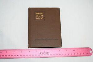 SHAKESPEARE-039-S-JULIUS-CAESAR-MACMILLAN-POCKET-CLASSIC-EDITION-1916