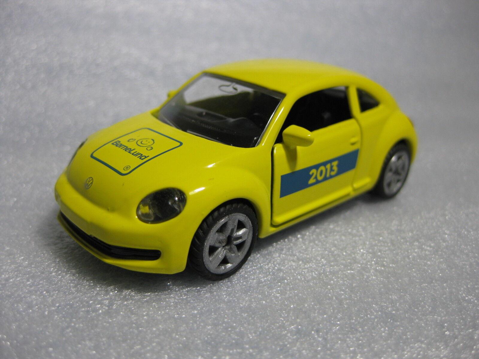 Siku VW El Escarabajo bornelund 2013 exclusivo Diecast Modelo RARE PROMO