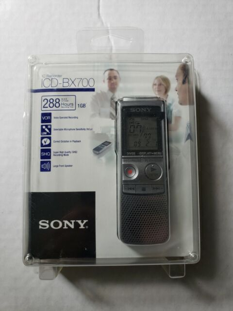 Sony ICD-BX700 (1024 MB, 280 Hours) Handheld Digital Voice Recorder - Open Box