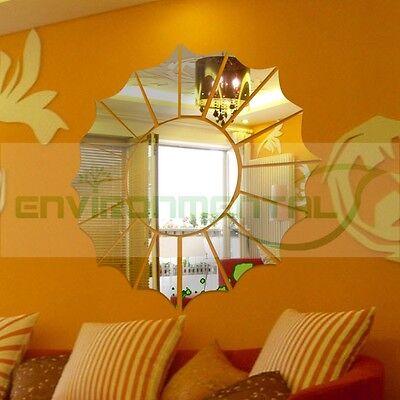 Modern Sun Totem Top Acrylic Plastic Mirrors Wall Art ROOM Decal Decor Stickers