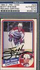1984 O-PEE-CHEE Scott Stevens #206 Hockey Card