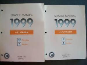 1999 chevrolet cavalier repair manual
