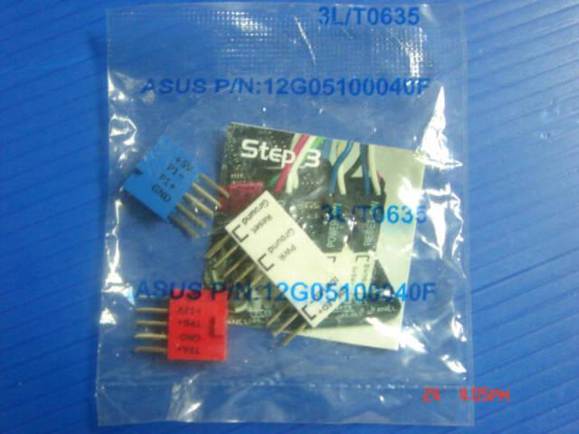 ASUS Q CONNECTOR KIT( USB +1394+PANEL) NEW 12G05100040F(L)