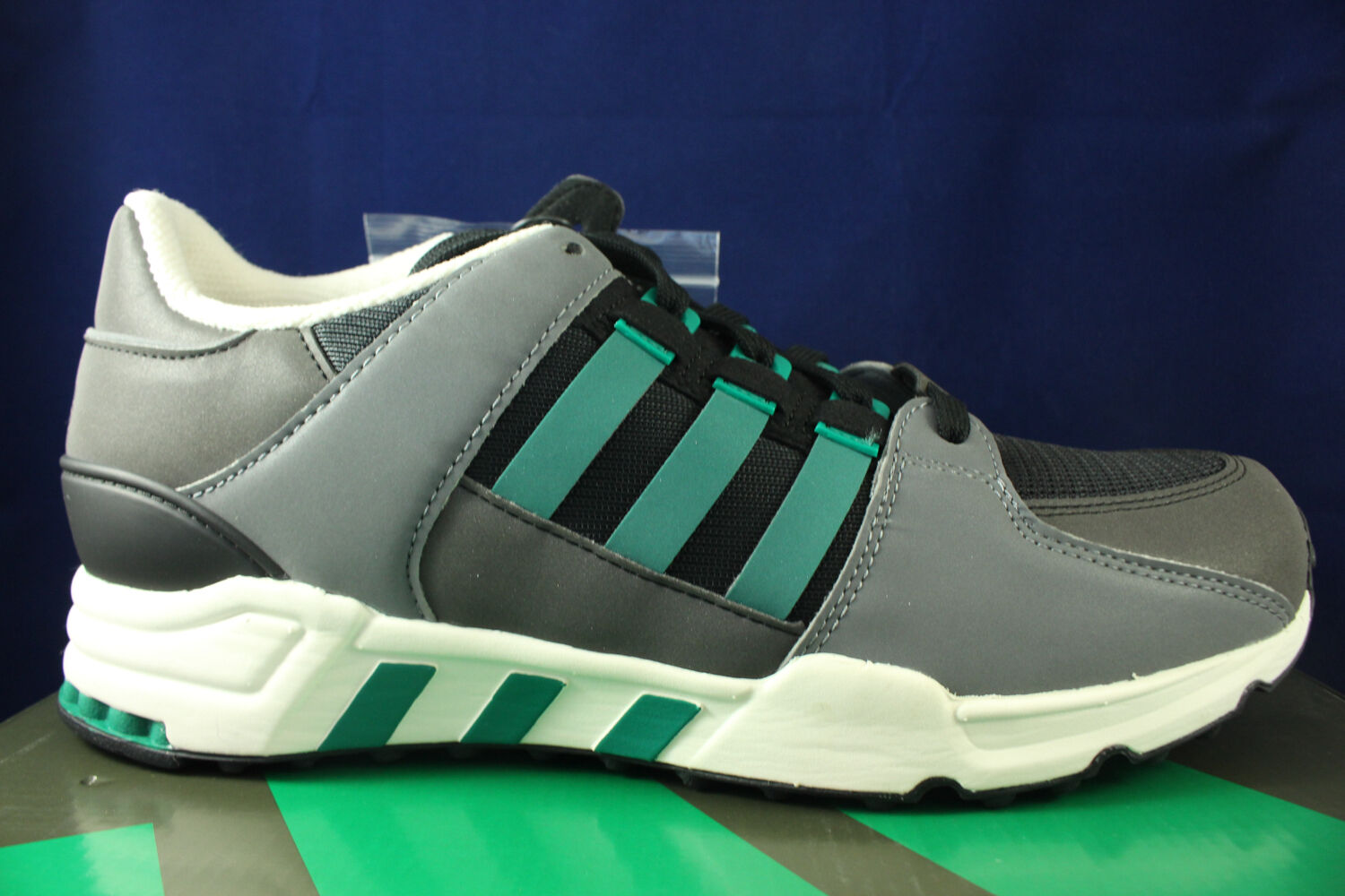 ADIDAS EQT RUNNING BLACK SUB GREEN CHALK WHITE SZ EQUIPMENT S32144 SZ WHITE 11 a07194