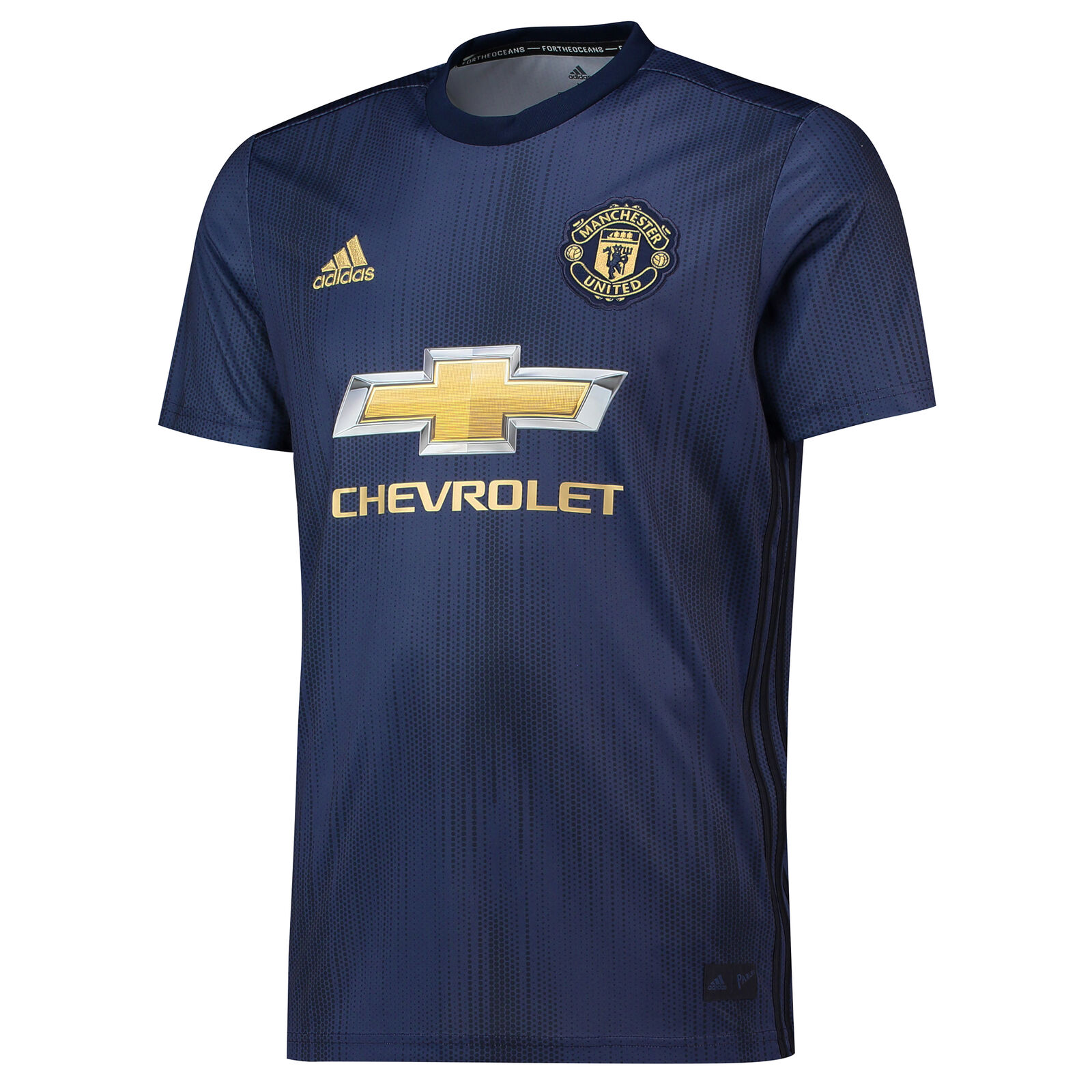 Official Manchester United Football Third Jersey Shirt 2018 19 Mens adidas