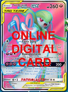 NM FULL ART Pokemon GARDEVOIR /& SYLVEON GX Card UNBROKEN BONDS Set 204//214 Tag