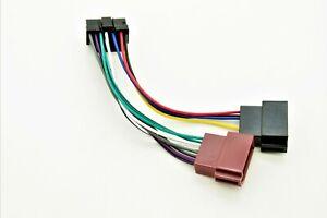 ISO-Adapter-Kabel-Anschlusskabel-Radioadapter-Autoradio-JVC-KD-S-KS-F-KS-FX