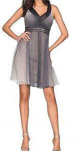 elegantes-festliches-Empire-Kleid-mit-Farbverlauf-Partykleid-Cocktailkleid-NEU