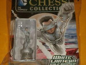 WHITE-LANTERN-Kyle-Rayner-67-DC-Chess-Collection-Eaglemoss-Green-Lantern-Corp