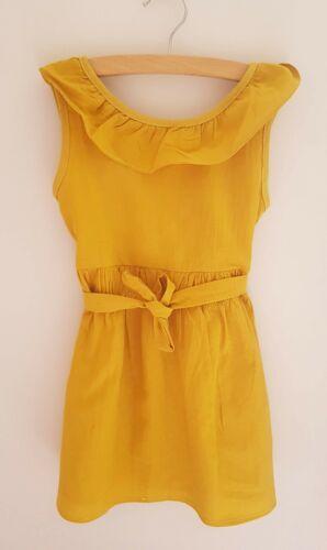Girls Mustard Dress